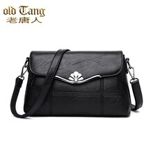 OLD TANG Fashion Casual Small Square Bag Pu Leather Hand Bags For Women 2020 New Shoulder Crossbody