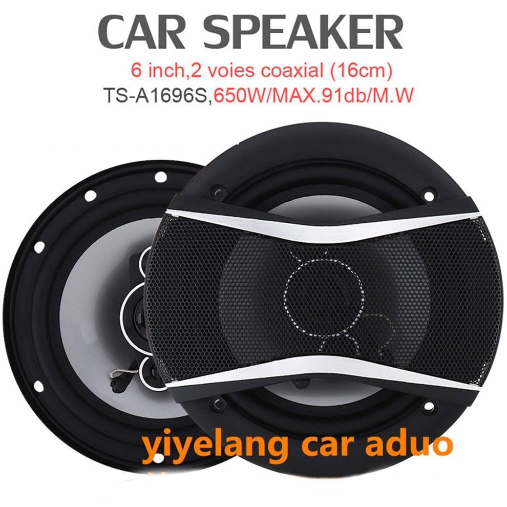 1696 alto-falante coaxial do midrange 6.5 Polegada orador do carro do plantador 1 par