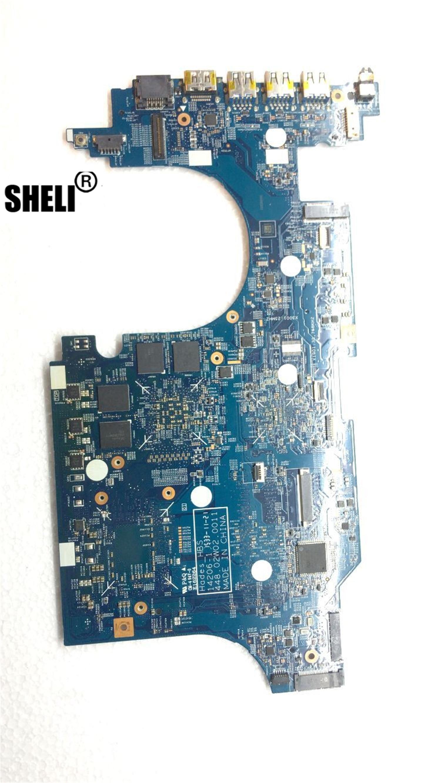 SHELI لشركة أيسر أسباير VN7-591 VN7-591G دفتر اللوحة 14206-1 448.02W02.0011 وحدة المعالجة المركزية i5-4210HQ GPU GTX860M اختبار 100% العمل