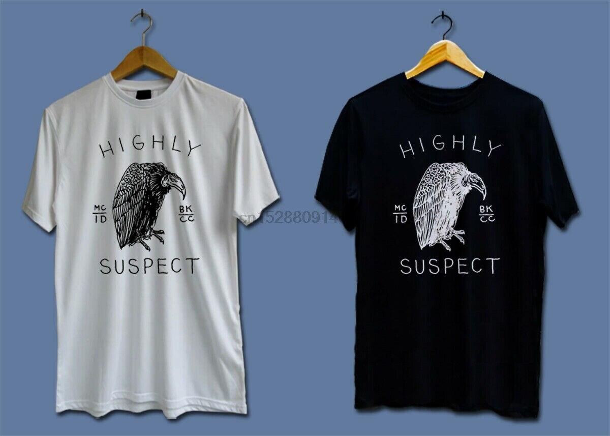 Высоко подозреваемого группы Тур 2017 Мужская N женский, черный белая футболка (1)