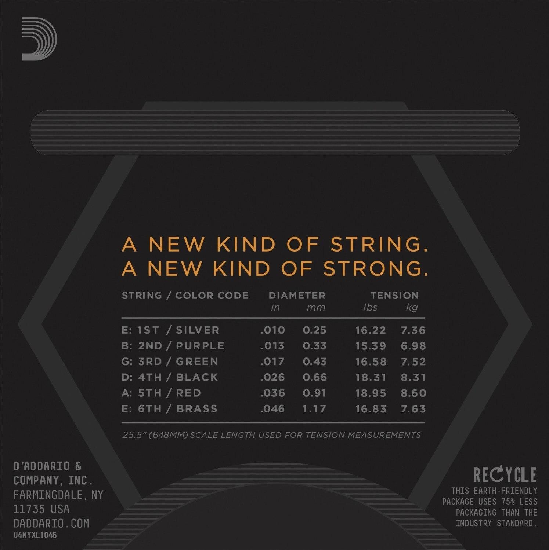 D'Addario NYXL1046 Nickel Wound Electric Guitar Strings, Regular Light & Pro-Winder Bundle enlarge