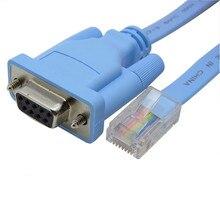 Câble série réseau RJ45 vers RS232 Port série DB9 routeur femelle pour Huawei Console câble adaptateur 1.5m