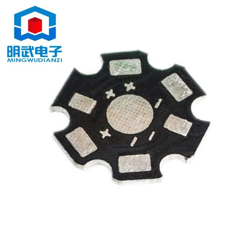 Substrato de aluminio LED 1w 3w 5w, cuentas de lámpara de alta potencia general, disipador de calor de cuentas de lámpara