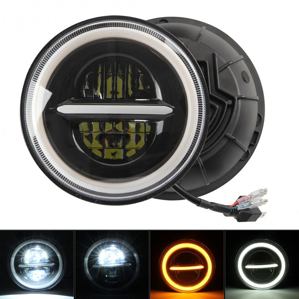 45% Hot Sales!!! 7 inches DC 9-30V Eagle Eye Round Headlight LED Car Working Lamp for Wrangler
