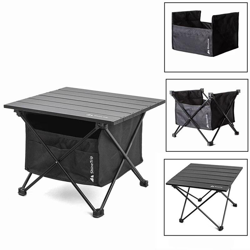 Складной стол мангал для шашлыков, открытый столик со съемной сумкой для хранения, алюминиевый сплав, для барбекю, пикника, водонепроницаем...