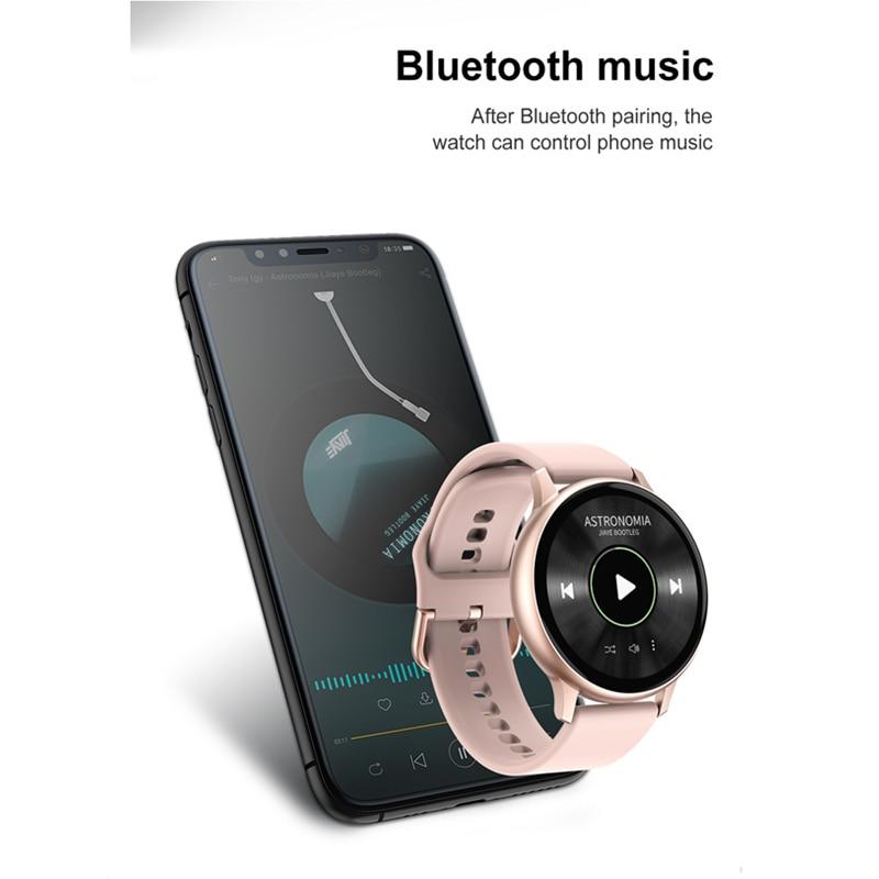 Women's Smart Watch ECG Blood Pressure Oxygen Call Whatsapp Reminder Activity Tracker IP67 Waterproof Smartwatch for Samsung IOS enlarge