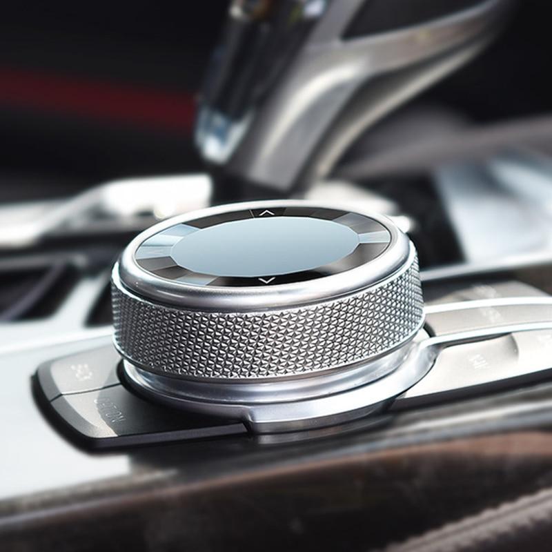 carbon fiber gear head knob trim gear shift collars covers for bmw 1 2 3 4 5 series 320 f20 f22 f30 f32 f10 interior accessories Multi Media Knob Cover Car Multimedia Button Knob Cover For BMW 1 3 4 5 Series F20 F21 F22 F34 F32 F33 F30 F32 F10 F18 E70 E71