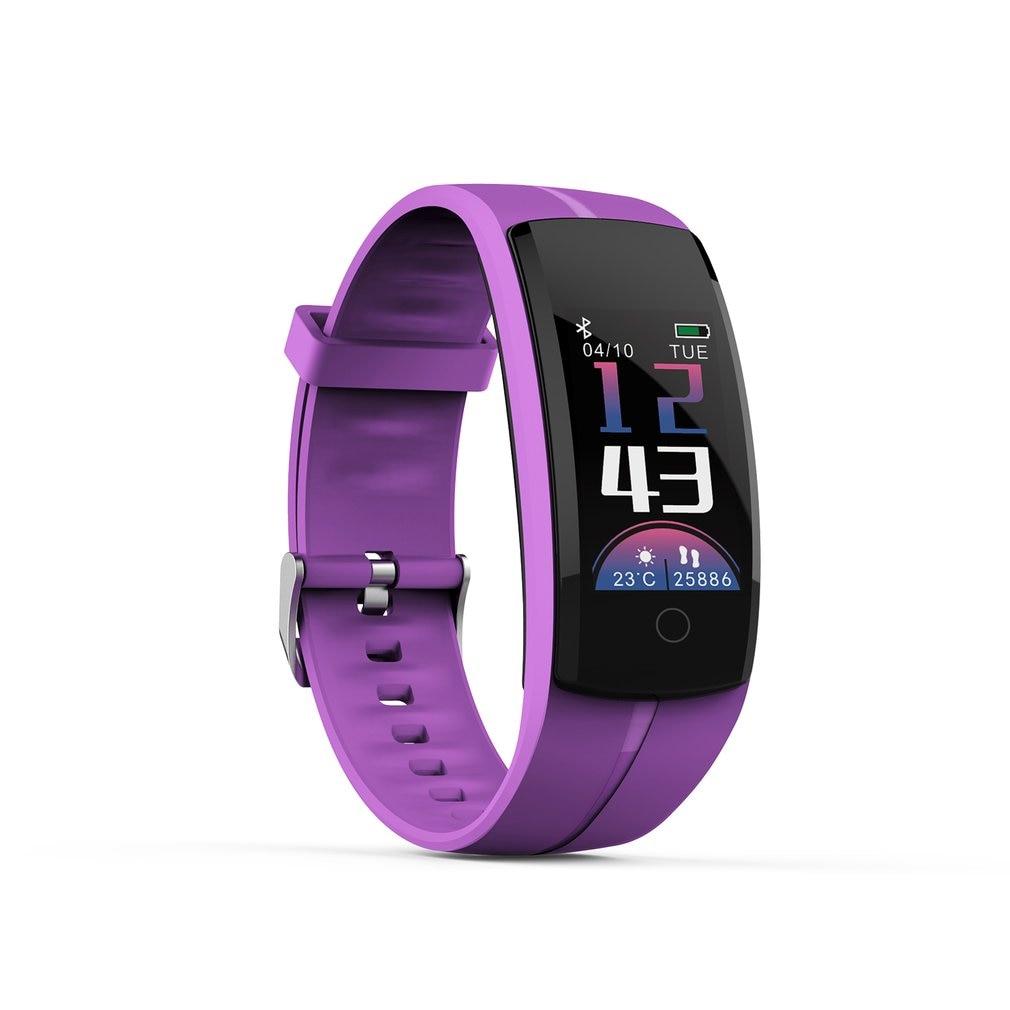 Пары QS-100 смарт-браслет монитор сердечного ритма спортивный фитнес-браслет трекер в реальном времени водонепроницаемые Смарт-часы