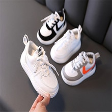 Children Girls Sneakers Boy Casual Shoes Breathable Pu Spring And Autumn Kid Sports Shoes Child Flat