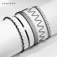 1 pcs fashion wave mens women unisex black wavy hair head hoop band sport headband hairband hair accessories
