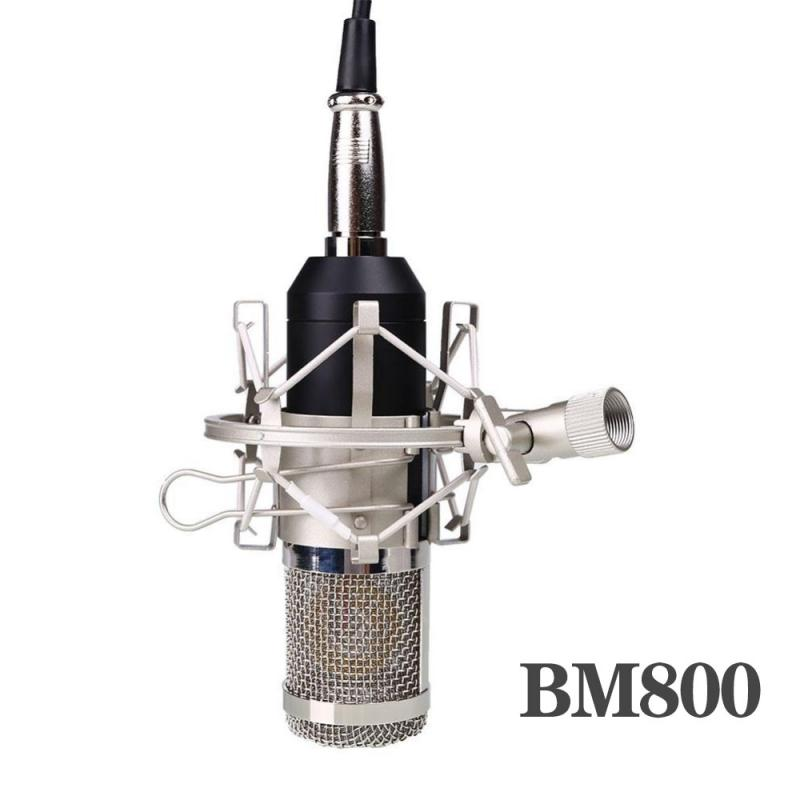 2020 New Microfone Bm 800 Pro Condenser BM800 Mic Audio Microphone Sound Studio Dynamic Microfono Microfone +Metal Shock Mount