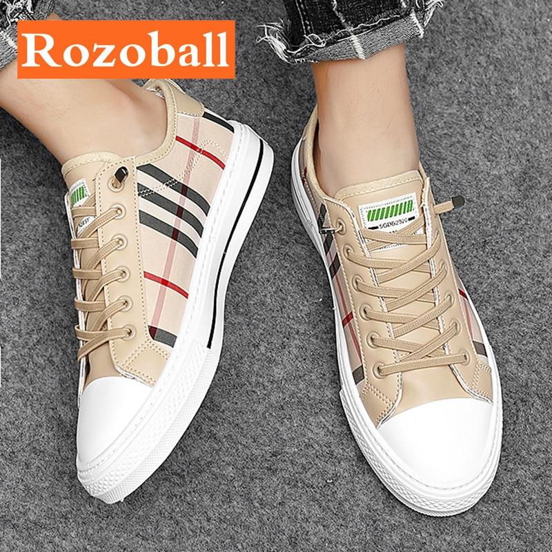 الصيف حذاء قماش للرجال تنفس فلكنيز أحذية الرجال أحذية رياضية خفيفة الرجال حذاء المشي غير رسمي عدم الانزلاق دروبشيبينغ Rozoball