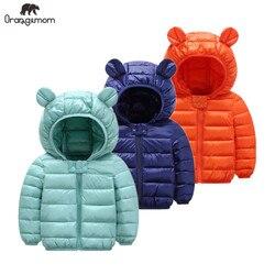 Nette 1- 5y baby mädchen jacke kinder jungen mode mäntel mit ohr hoodie frühjahr mädchen kleidung säuglings kleidung kinder der jacken