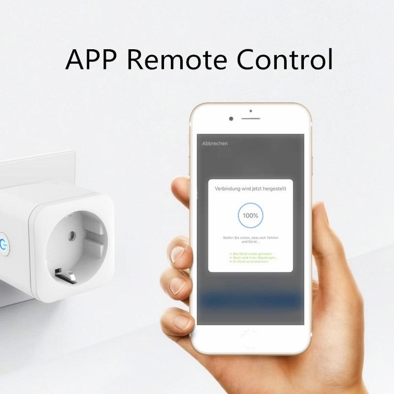 Smart Plug WiFi Socket 16A Tuya ZigBee Remote Switch Electrical Sockets Smart Timer Socket Network Filter With Alexa Google Home