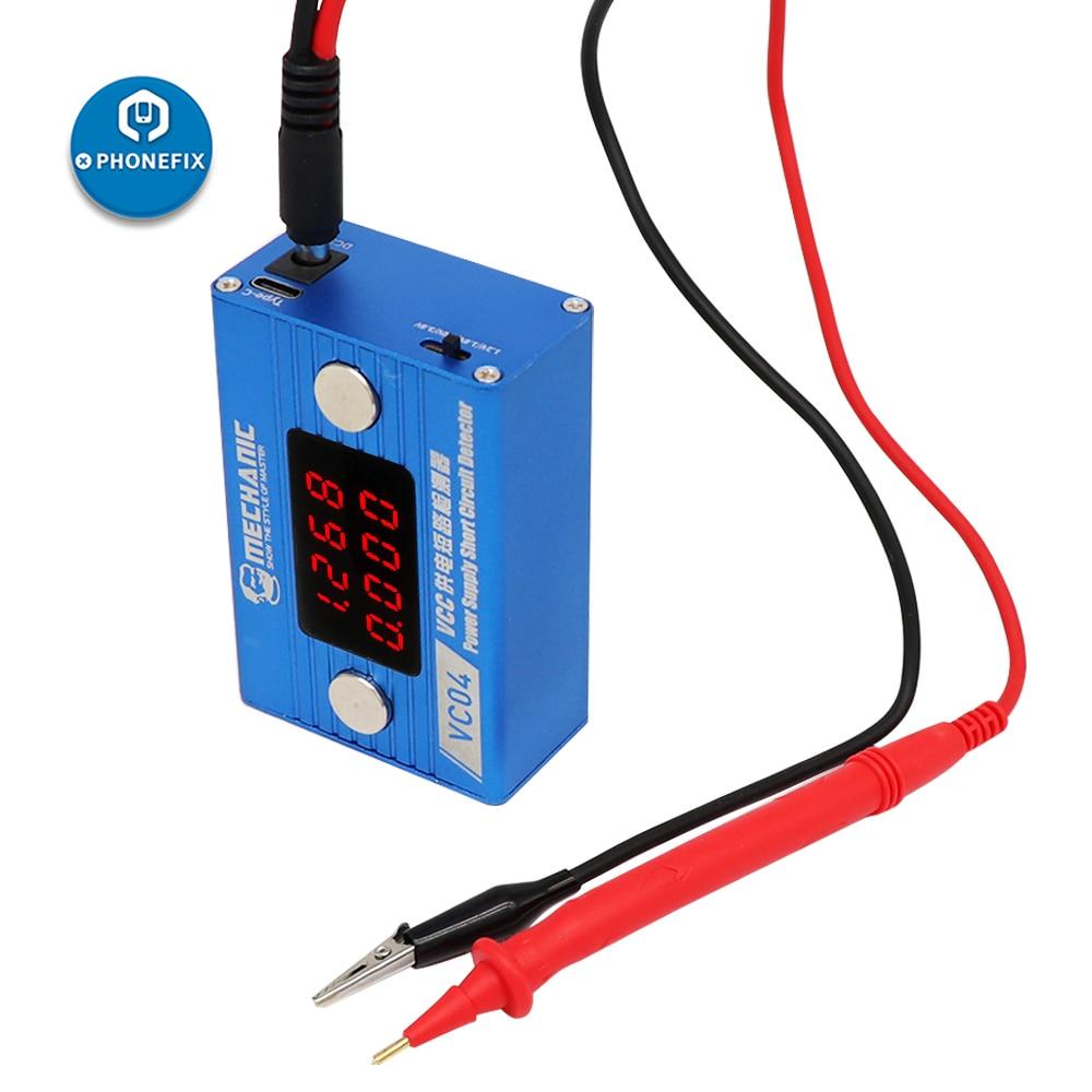 MECHANIC Short killer Circuit Detector Mobile Phone Short Circuit Burning Detection Box Motherboard Repair Tool VCC Power Supply