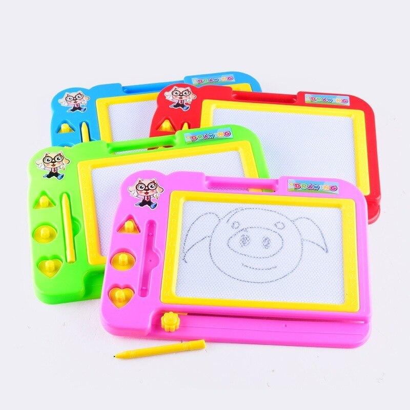 Детская магнитная доска для рисования, набор для рисования, шаблон для рисования, Обучающие игрушки, граффити, рисование, доска для детей, по... доска для рисования детская quercetti для обучения математике и рисования 5323