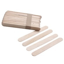 100Pcs Big Size Wooden Waxing Wax Spatula Tongue Sticks Disposable Bamboo Sticks Tattoo Wax Stick Beauty Health Tool