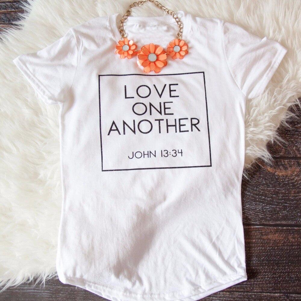 Camiseta estampado carta Top, camiseta para las mujeres, camisa de lema Grunge Tumblr manga corta Camisa gótica amor, mujer camiseta