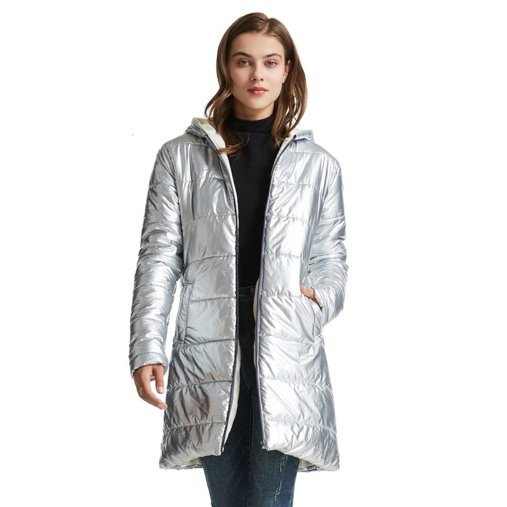 RICORIT chaqueta de invierno mujeres chaqueta con capucha más cálido abrigo Slim Parkas Chaquetas Mujer X-Largo Пуховик Женский Куртка Женская
