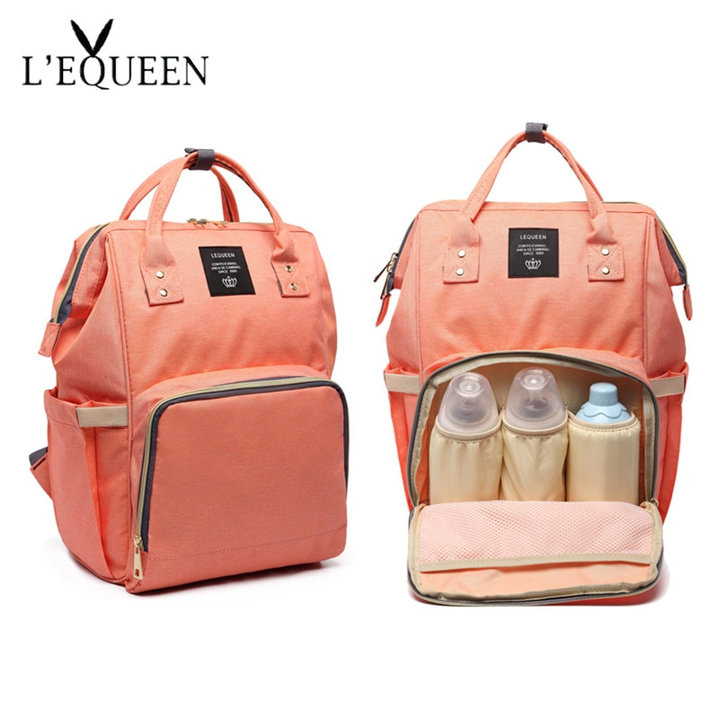 Diaper Bag Upgraded Fashion Mummy Backpack Multi-Function Large Capacity Mothers  Women