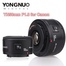 Объектив YONGNUO YN50mm F1.8 YN EF 50 мм, объектив YN50, апертура F1.8, объектив с автофокусом для зеркальных камер Canon EOS 60D, 70D, 5D2, 5D3, 600d