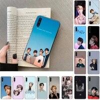 idol kpop han ji sung stray kids phone case for samsung galaxy a50 a30s a50s a71 70 a10 case samsung a51 case