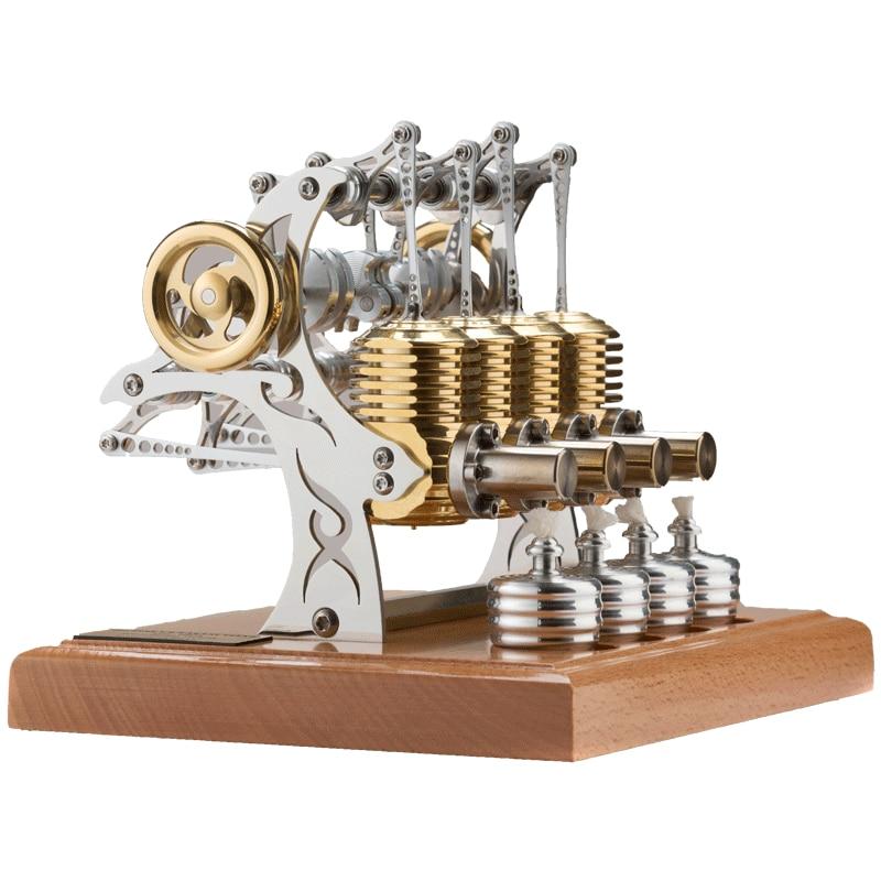 TT ستيرلينغ محرك نموذج المعادن الدقة الميكانيكية اللعب هدية عيد ميلاد الرجال اليدوية لتقوم بها بنفسك