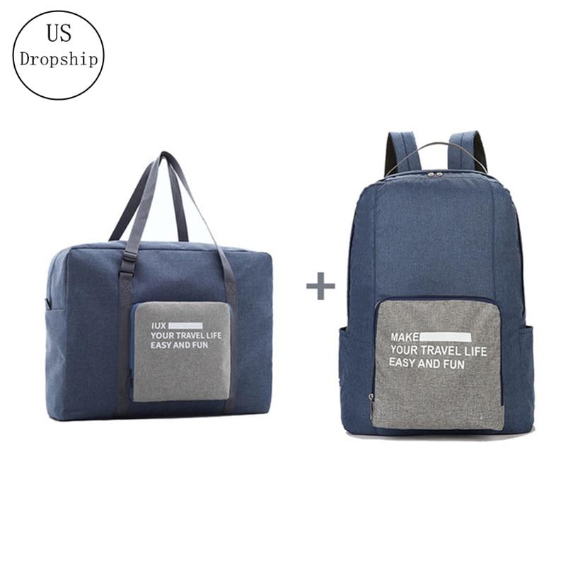 Новые мужские дорожные сумки, водонепроницаемая нейлоновая складная сумка для ноутбука, вместительная сумка для багажа, дорожные сумки, по...