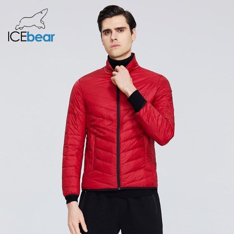 ICEbear 2020 nueva chaqueta ligera de plumas para hombres chaqueta de calidad para hombres, abrigo de primavera para hombres, ropa cálida para hombres MWY19999D