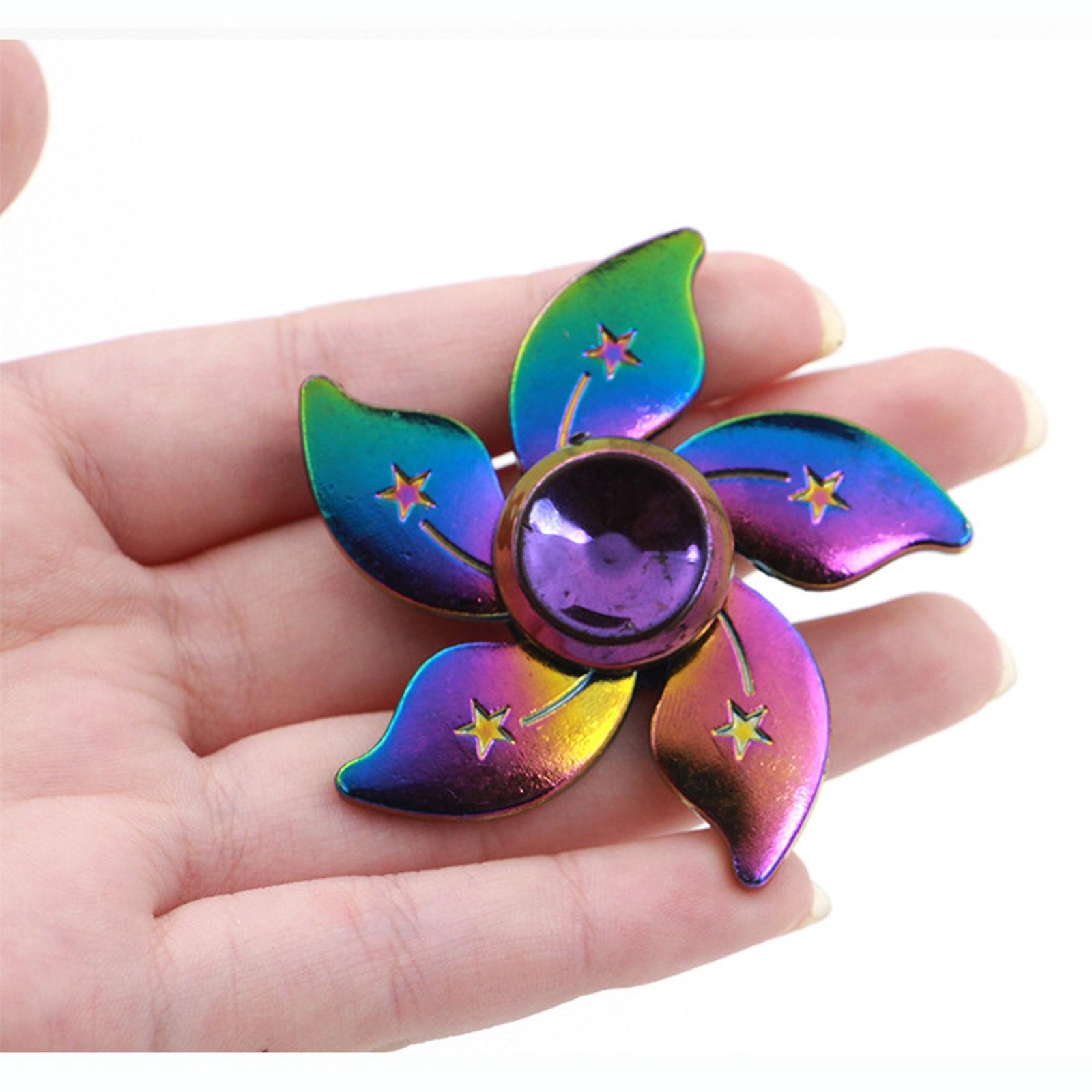 Milti-color Hand Spinner fidget Zinc Alloy Metal fidget spinner metal bearing edc finger Spinner Hand relieves stress Спинер