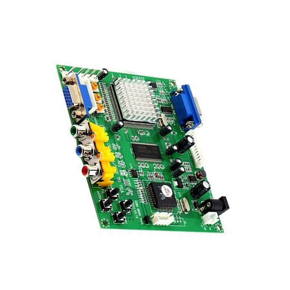 PCB de alta definición para Arcade Mini Video Juego convertidor LCD CRT verde señal de escaneo automático accesorios Monitor proyector