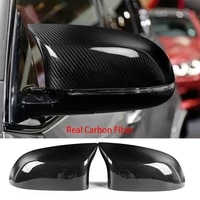 real carbon fiber side rearview mirror cover cap for 2015 18 bmw x5m f86 x6m