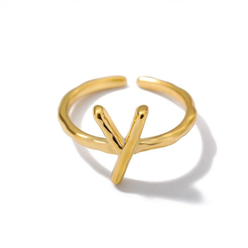 de aço inoxidável inicial empilhável anéis mãe irmã presentes