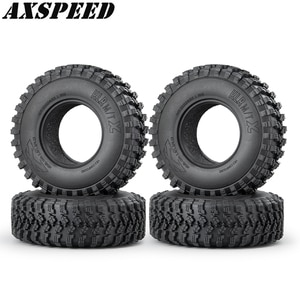 AXSPEED RC Car 1.9Inch Wheel Tires Mud Grappler Rubber Tyre 106mm for 1:10 RC Rock Crawler Axial SCX10 Upgrade Parts