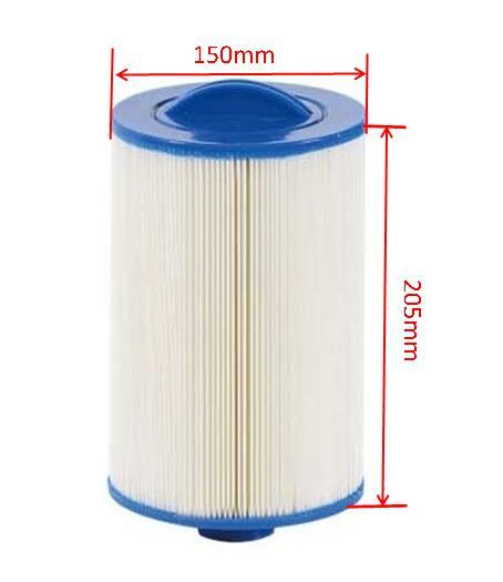 حار بيع سبا فلتر عنصر Unicel 6CH-940 Pleatco PWW50 205 مللي متر x 150 مللي متر ، with38mm حفرة الإستحمام فلتر خرطوشة نظام عنصر