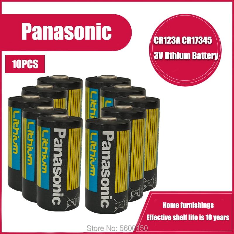 Bateria da Câmera de Lítio Lote Arlo Cr123a Panasonic Cr17345 Dl123a El123a 123a 16 Pçs – 3v