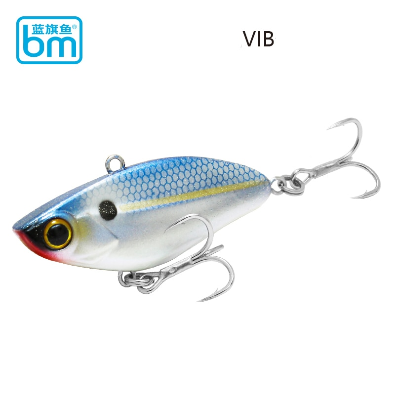 fishing lure 2020 VIB metal swimbait slow jigging bass fishing black minnow carp trout top water lure wobbler Fishing Tackle kit