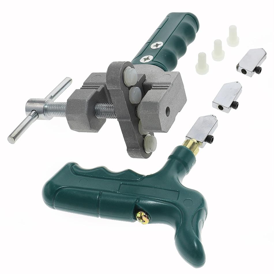 Kit tagliapiastrelle, utensile professionale per vetro con punta diamantata, tagliapiastrelle
