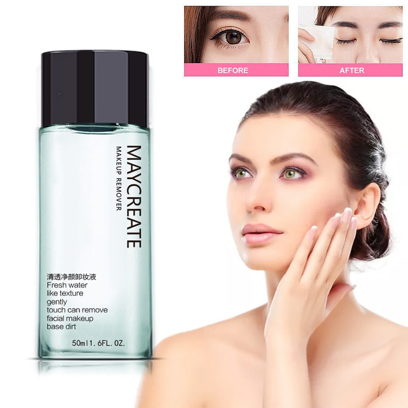 Facial Zachte Make-Up Remover Vloeistof Diep Snelheid Reiniging Eye & Lip Make-Up Remover Nieuwe 2019 maquiagem dropshipping TSLM1