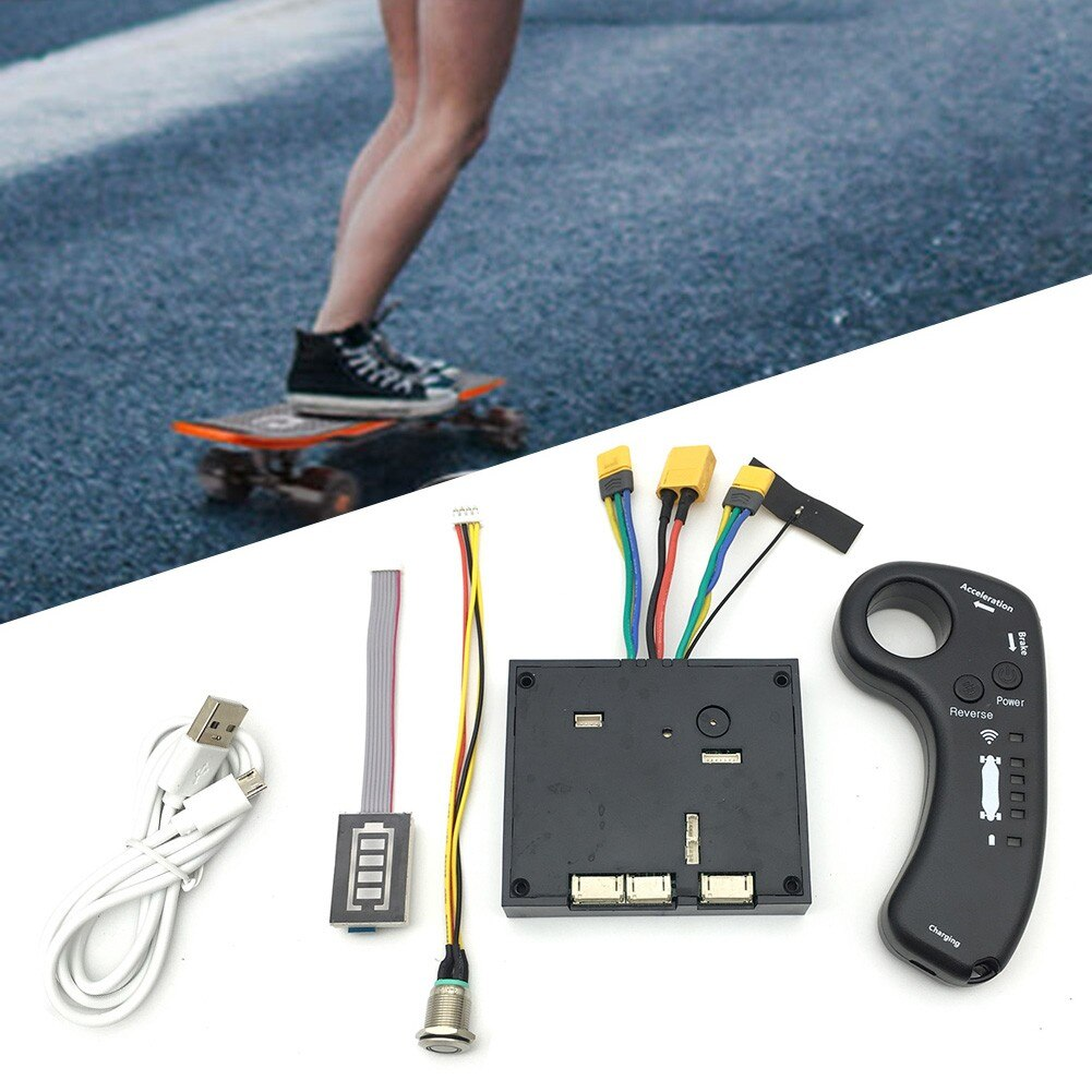 Double Motor Electric Skateboard Controller Leader Board Drive ESC Main Board Cover Remote Control Control Board ESC Accessories