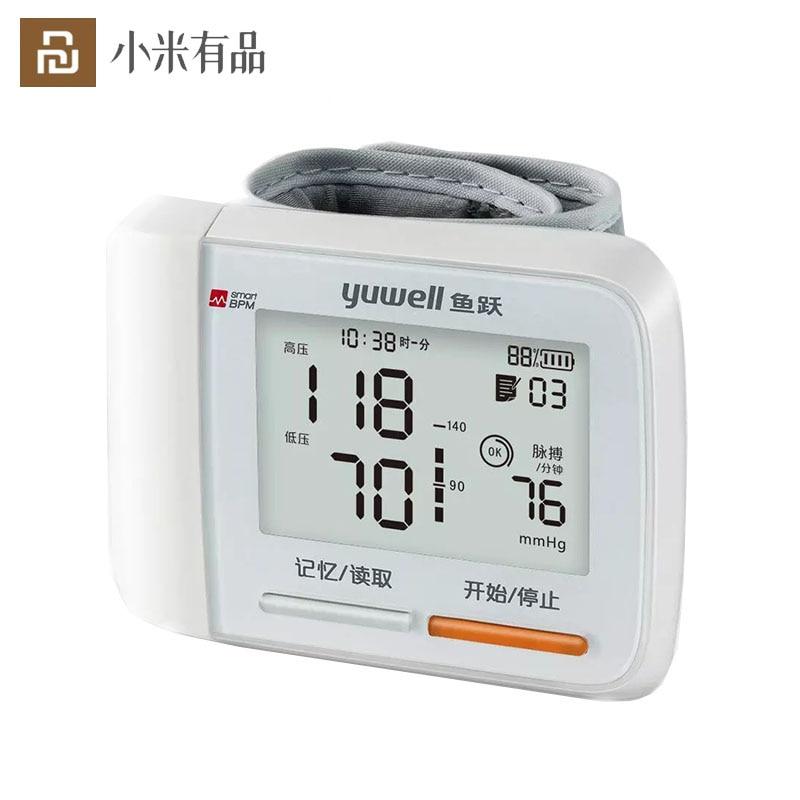 Youpin-جهاز مراقبة ضغط الدم الأوتوماتيكي ، جهاز مراقبة ضغط الدم الأوتوماتيكي اللاسلكي ، مع شاشة LCD ، لكبار السن