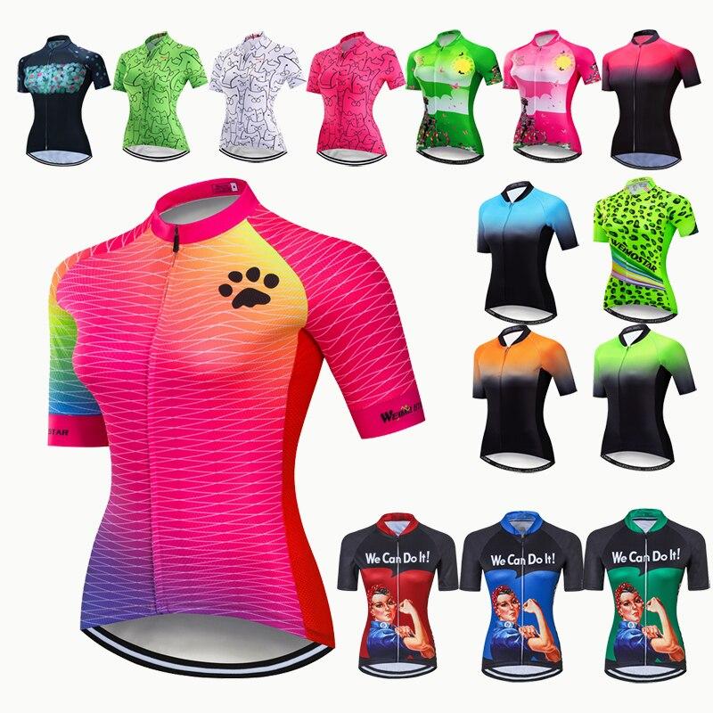 Camiseta de manga corta de Ciclismo para mujer, Ropa de Ciclismo de...