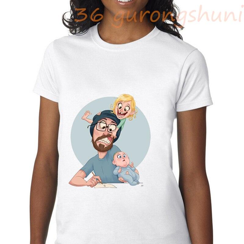 Camisetas con gráficos familiares, camisetas divertidas con estampado de super papá, camiseta gótica, camiseta de mujer, ropa estética grunge, ropa de calle tumblr