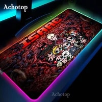 hollow knight led light mousepad rgb keyboard cover desk mat colorful surface mouse pad waterproof world computer gamer cs dota