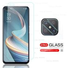 glass for oppo reno4 z 5g phone screen camera protectors on appo reno4z reno 4z 5g 6.57'' CPH2065 te