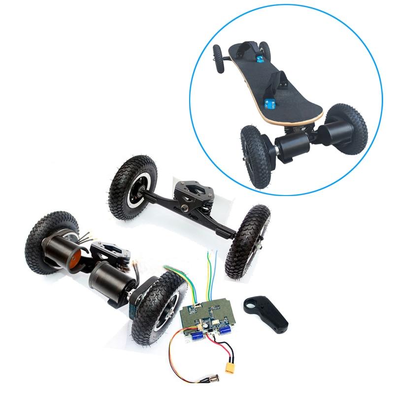 Electric Skateboard Brushless Motor 8inch Whlees Off Road Skateboard Belt Drive Bridge 4 Wheel Long Board 11inch e-skateboard