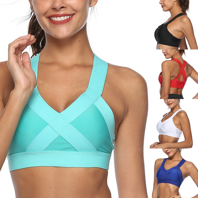 2021 спортивный бюстгальтер для фитнеса, женский бюстгальтер для бега, тренажерного зала, ударопрочный спортивный жилет, дышащий спортивный ...
