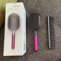 for dyson comb wide tooth air detangling hairdressing rake hair styling massage sharon brush set 2pc tool accessories