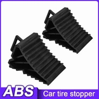 new 2pcsset new automobiles anti slip block rubber car tyre slip stopper control wheel alignment block tire support pad hot top