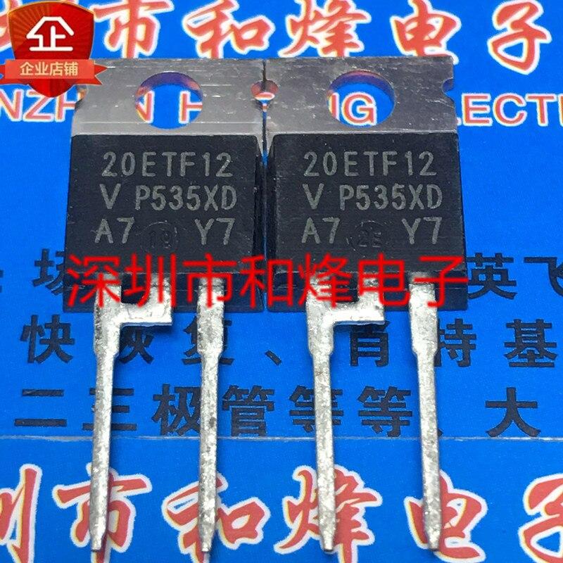 Original 5 pces/20etf12 to-220-2 1200v 20a
